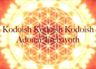 Kadoish Kadoish Kadoish Adonai Tsebayoth