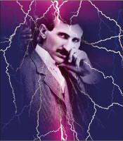 Piastra di Tesla Purpurea