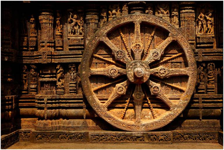 simbolo ruota del dharma
