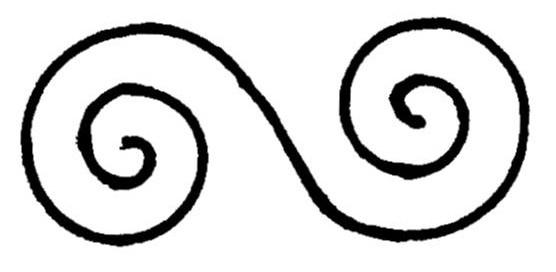 simbolo della doppia spirale