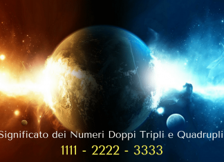 numeri doppi tripli quadrupli 1111 2222 3333