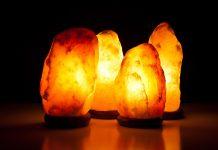 Lampada di Sale dell'Himalaya