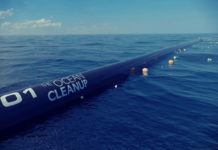 ocean cleanup floater