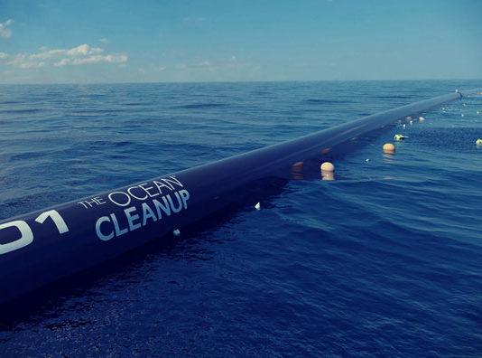 ocean cleanup floater