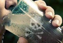 veleni pericolosi nell'acqua