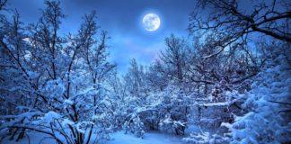 luna piena 22 dicembre significato luna fredda inizio dell'inverno