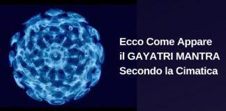 GAYATRI MANTRA Cimatica
